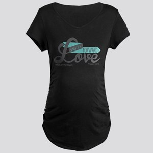 Walk Forward In Love Maternity T-Shirt