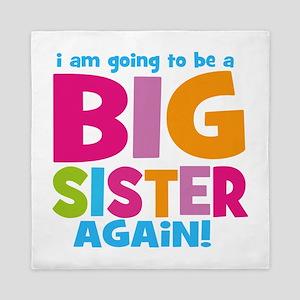 Big Sister Again Queen Duvet