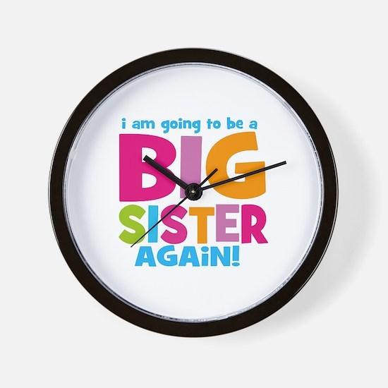 Big Sister Again Wall Clock
