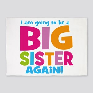 Big Sister Again 5'x7'Area Rug