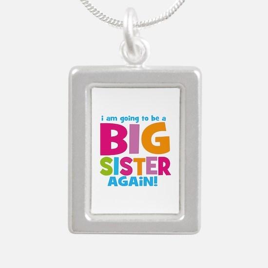 Big Sister Again Silver Portrait Necklace