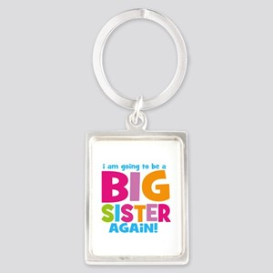 Big Sister Again Portrait Keychain