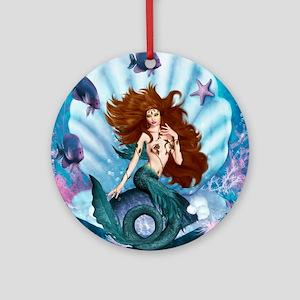 Best Seller Merrow Mermaid Ornament (Round)