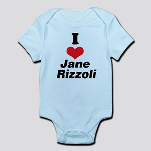 I Heart Jane Rizzoli 1 Body Suit