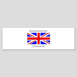 Manchester England Sticker (Bumper)