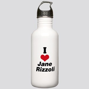 I Heart Jane Rizzoli 1 Water Bottle