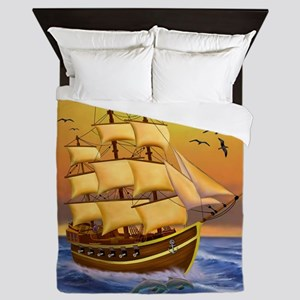 TREASURE HUNTER Queen Duvet