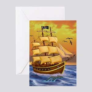 TREASURE HUNTER Greeting Card