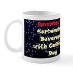 Mug: Carbonated Beverage with Caffeine Day