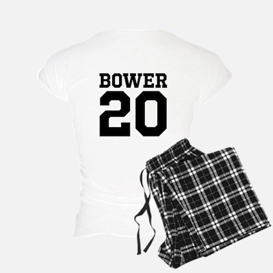 Landon Bower #20-Women's Pajamas