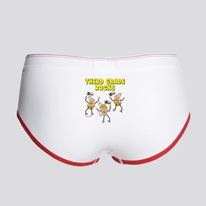 Third Grade Rocks Women's Boy Brief