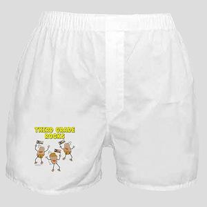 Third Grade Rocks Boxer Shorts