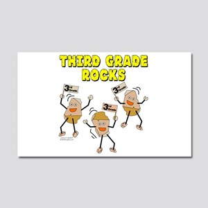 Third Grade Rocks Car Magnet 20 x 12