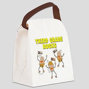Third Grade Rocks Canvas Lunch Bag