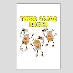Third Grade Rocks Postcards (Package of 8)