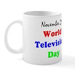 Mug: World Television Day