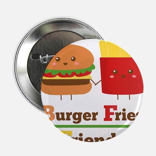 """Kawaii Cartoon Burger Fries Friends BFF 2.25"""" Butt"""