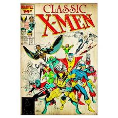 Classic X-Men Poster