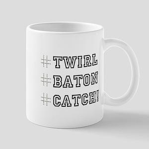 Hashtag Twirl Mug