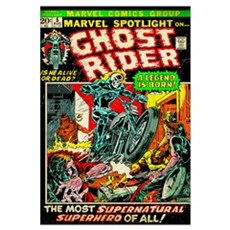 Ghost Rider (The Most Supernatural Superhero Of Al Poster