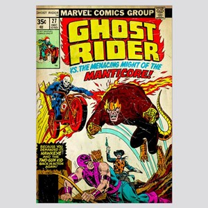 Ghost Rider Vs. The Menacing Might Of The Manticor