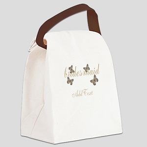 Cute Bridesmaid Team Bride Canvas Lunch Bag
