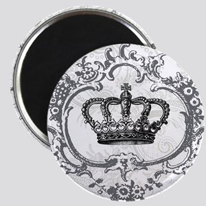 Vintage french shabby chic crown Magnet