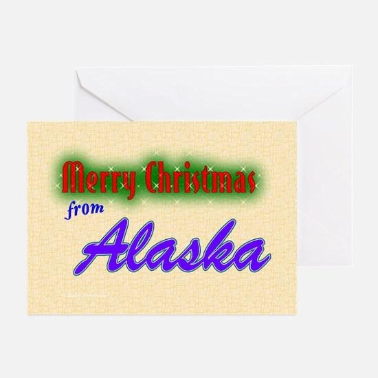 Alaska Christmas Cards (Pk of 10)