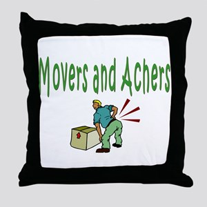 Movers Throw Pillow