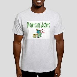 Movers Ash Grey T-Shirt