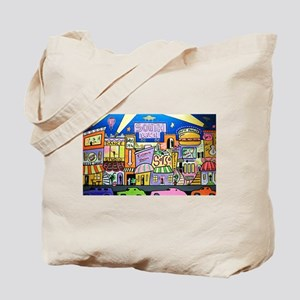 Design #32 SOuth Beach Miami Nightlife Tote Bag