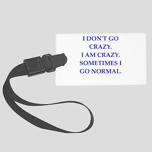 CRAZY Luggage Tag