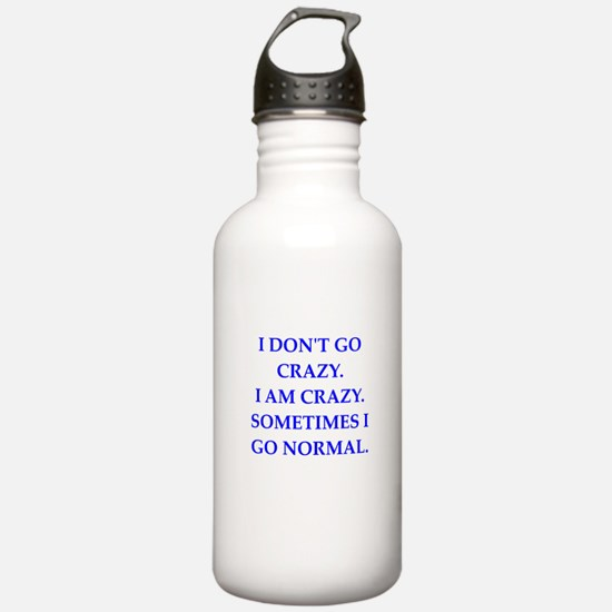 CRAZY Water Bottle