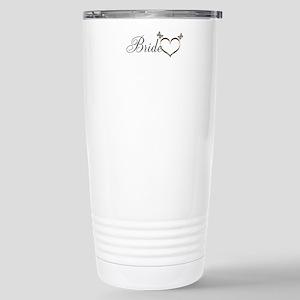 Pretty Bride Heart Butterflies design Mugs