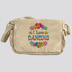 I Love Dancing Messenger Bag