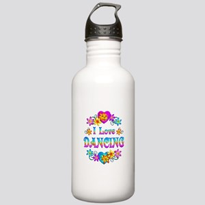 I Love Dancing Stainless Water Bottle 1.0L