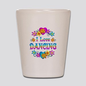I Love Dancing Shot Glass