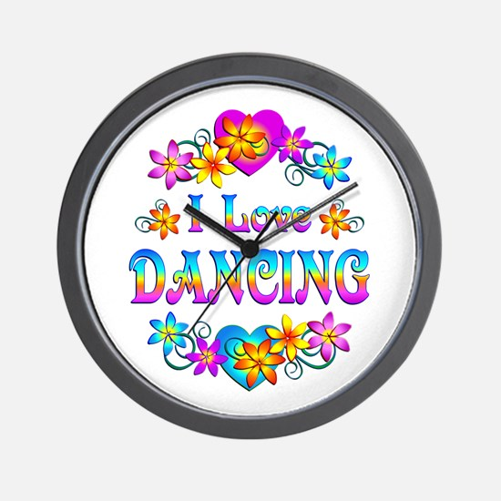 I Love Dancing Wall Clock