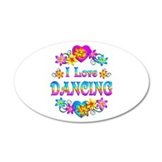 I Love Dancing Wall Sticker
