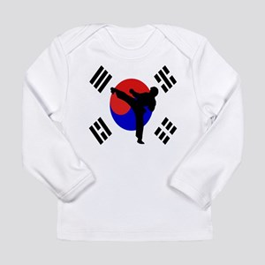 TKD man Long Sleeve Infant T-Shirt