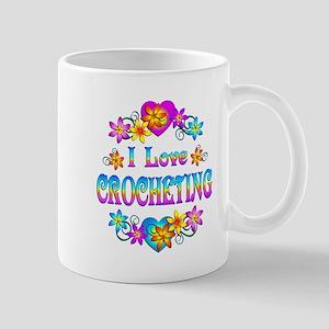 I Love Crocheting Mug