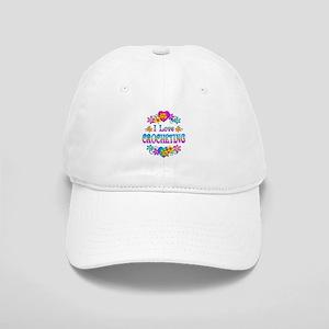 I Love Crocheting Cap
