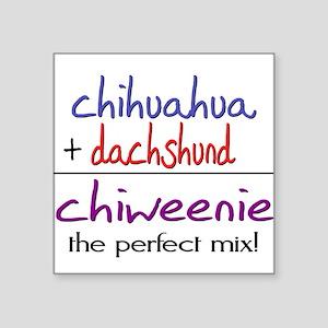 Chiweenie PERFECT MIX Sticker