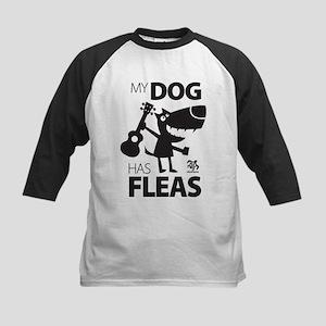 My Dog Has Fleas 13 Baseball Jersey
