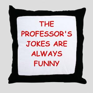PROFESSOR Throw Pillow