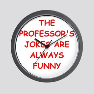 PROFESSOR Wall Clock