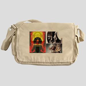 Strong African Women Messenger Bag