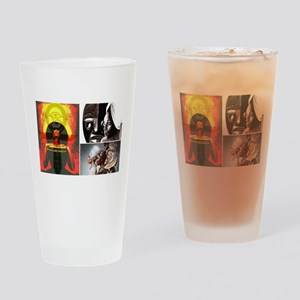 Strong African Women Drinking Glass