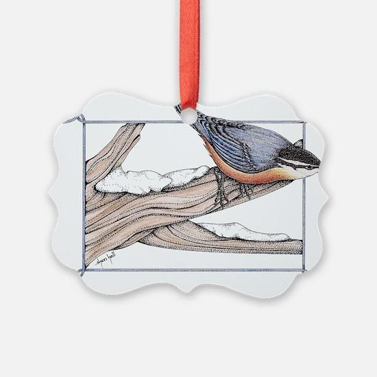 Nuthatch Ornament