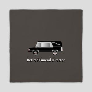 retired funeral director wallet 1 Queen Duvet